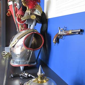 Musee Woerth vitrine cavalerie
