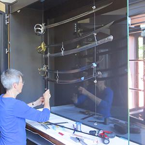 Musee Woerth vitrine sabre